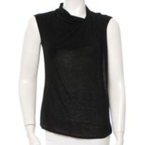 Helmut Lang cowl neck knit top, XS